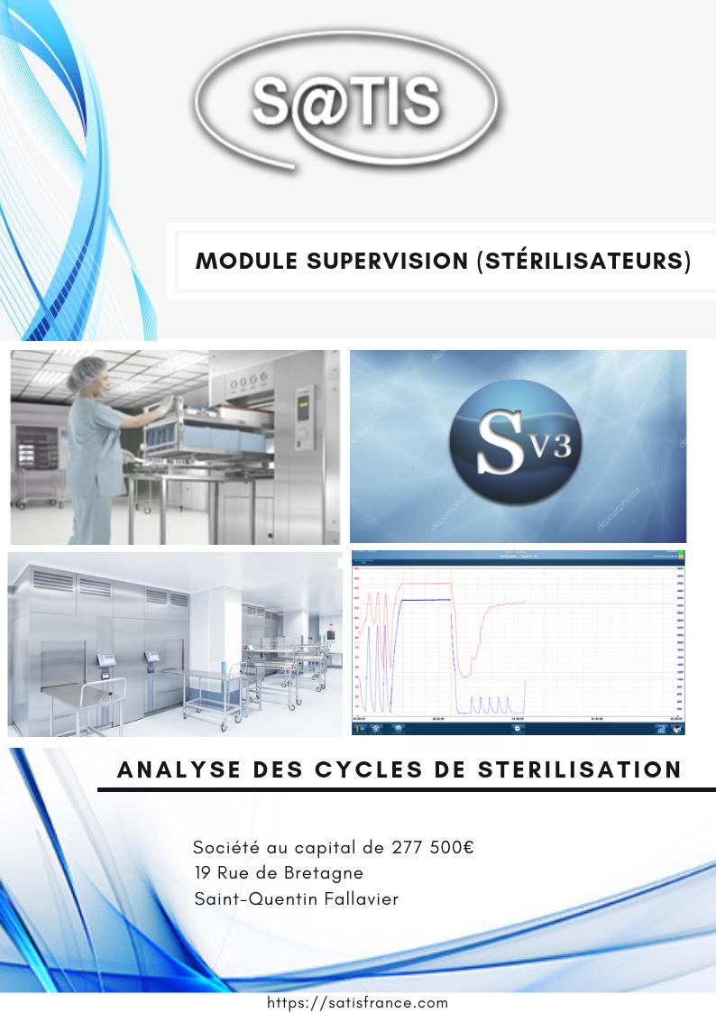 Module supervision stérilisateurs