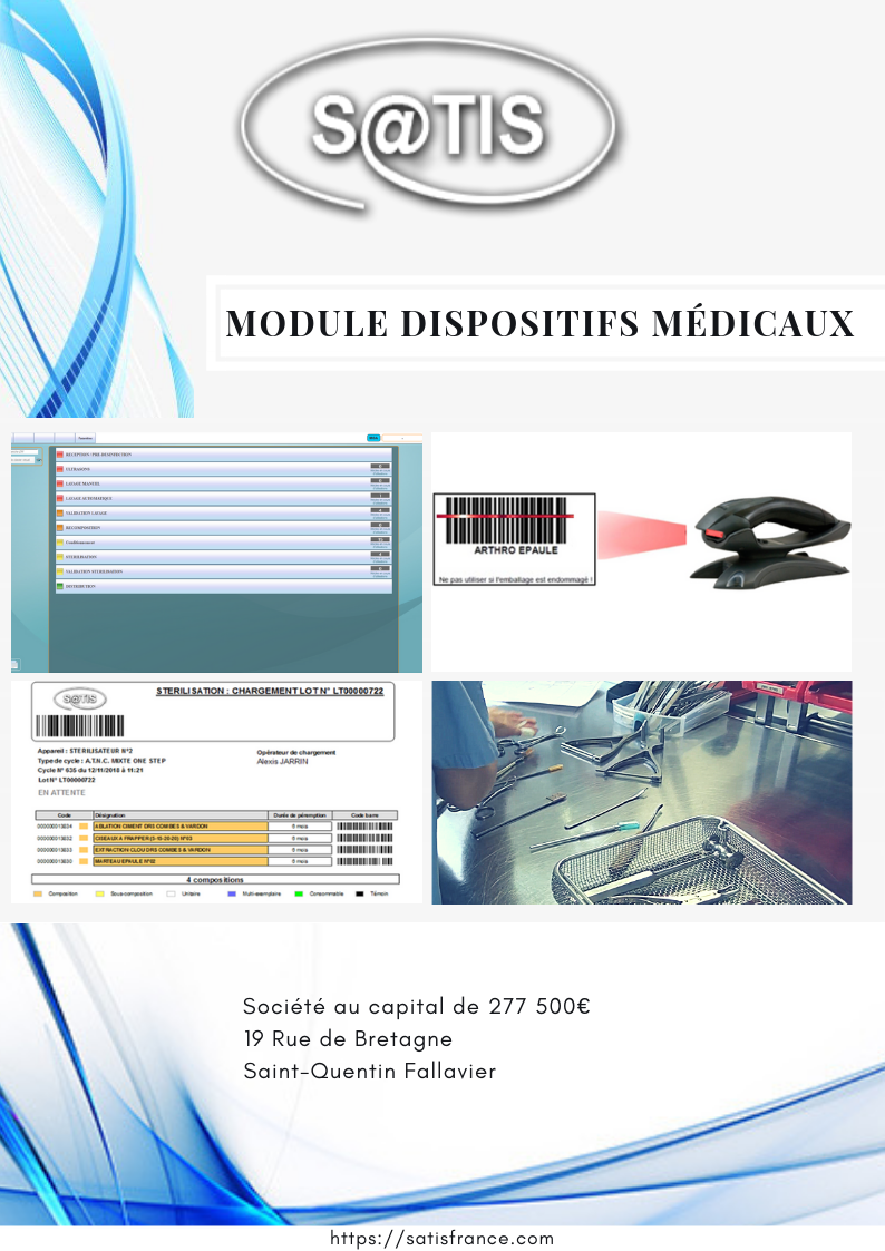 SATIS Dispositifs Médicaux