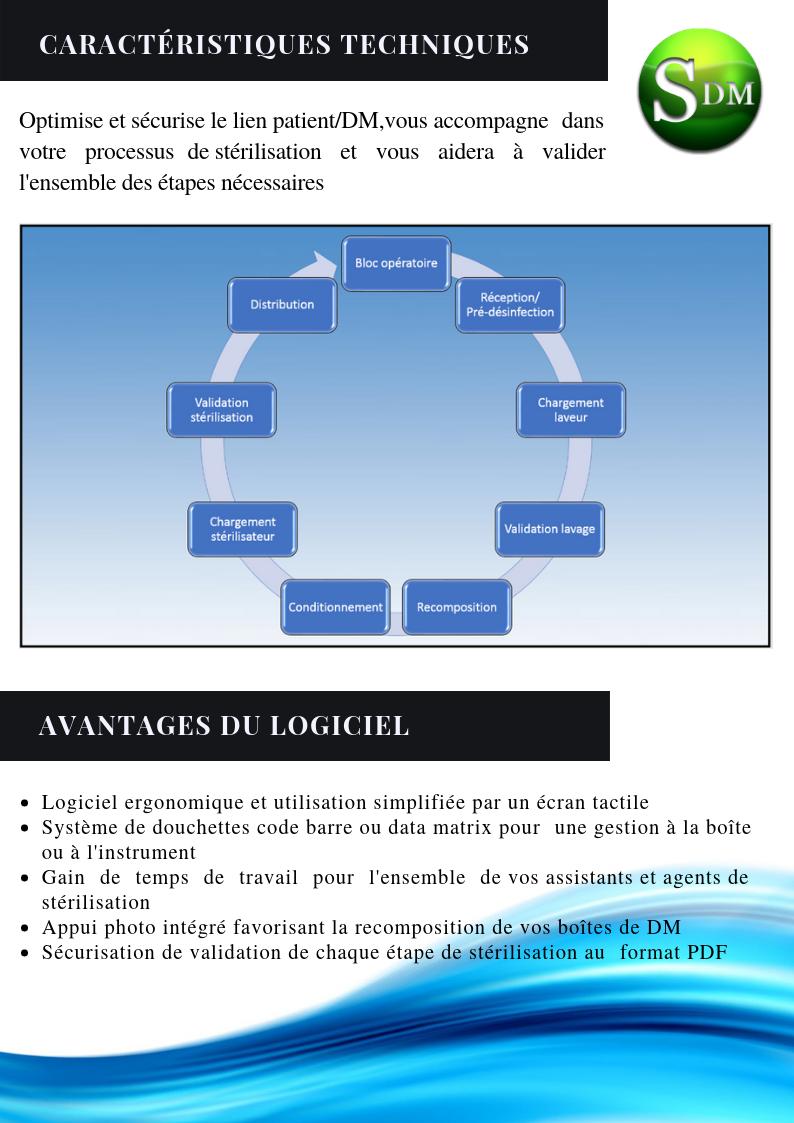 Caractéristiques techniques et avantages SATIS Dispositifs Médicaux